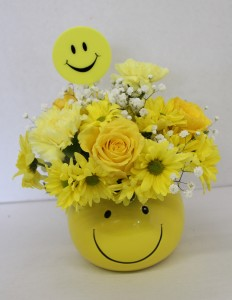 Happy Happy Happy Arrangement in Troy, MI | DELLA'S MAPLE LANE FLORIST