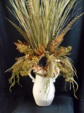 Harvest Bounty Fall Silk Arrangement