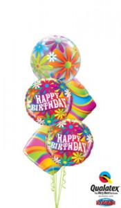 Have a 'GROOVY' birthday balloons in Edmonton, AB | BALLOONS, BEARS, & BOUQUETS