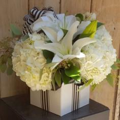 The Black and White Birthday Box  in Scottsdale, AZ | PARADISE VALLEY FLORIST
