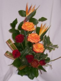 HEARTS AGLOWING - AMAPOLA BLOSSOMS: TROPICAL EXOTIC FLOWER DESIGNS   Prince George BC