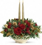 LENOX HOLLY  BOWL  CHRISTMAS in Miami, FL | THE VILLAGE FLORIST