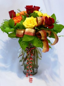HOT TIGER - Roses Roses & Gifts & or Chocolate Arrangement