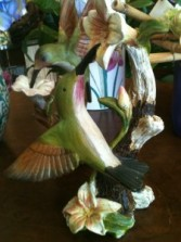 Hummingbird Decor In our Antiques & Gift Shop