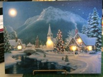 Illuminart - Snowy Church Scene