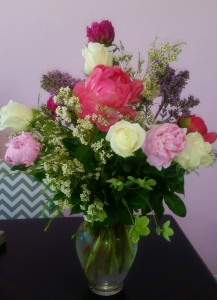 I'm So Poppy beautiful peonies and spring florals