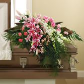 In Her Honor Casket Spray SY102