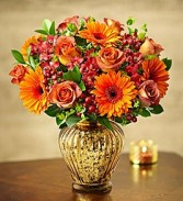 In Love With Fall Vase Arrangement