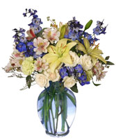 IT'S A BOY! BOUQUET Flower Arrangement in Council Bluffs, IA | ABUNDANCE A' BLOSSOMS FLORIST