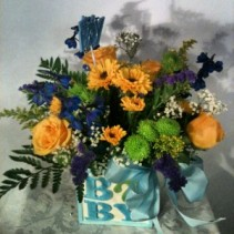 It's A Boy! Newborn Arrangement