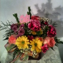 It's A Girl! Newborn Arrangement