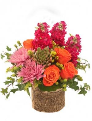 Ivy Rose Bouquet Arrangement in Garrison, ND | FLOWERS N' THINGS
