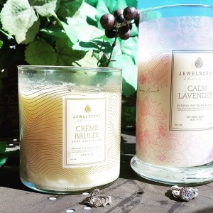 Jewel Scent Candles Gift Item