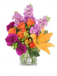 Jubilation! Bouquet in Lafayette, IN | LAFAYETTE FLOWER SHOPPE & GIFTS LLC