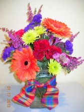 JUST BRIGHTEN THE DAY Bouquet in Grand Island, NY | Flower A Day