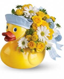 Just Ducky Baby Boy  in Beaufort, SC | CAROLINA FLORAL DESIGN