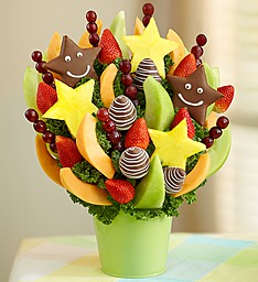 Just to see you smile fruti bouquet Fresh fruit bouquet