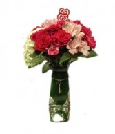 Key To Your Heart Vase