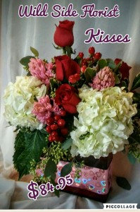 Kisses in Milford, MA | THE WILD SIDE FLORIST