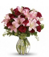 Lily love you bouquet