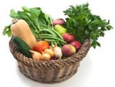 Local Organic Vegetable  Gift Basket