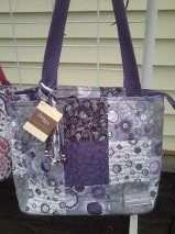 Lori celestial patch donna sharp quitled purses