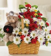 Lotsa Love Get Well Basket in Miami, FL | THE VILLAGE FLORIST