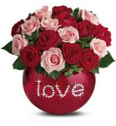 Love is in the air spray roses