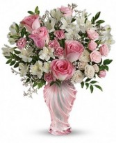 Love Mom Bouquet sensational vase