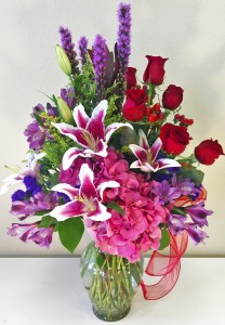 Lovely Lady  Arrangement of Flowers