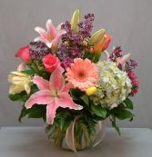 FLOWER OF THE MONTH CLUB - 6 MONTHS Seasonal Arrangement in East Hampton, CT | ESPECIALLY FOR YOU
