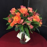 Lovely To Look At Rose Arrangement