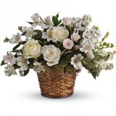 Lovely Whites Floral Bouquet
