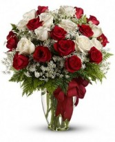Love's Divine Bouquet  T11Z101B in Fairbanks, AK | A BLOOMING ROSE FLORAL & GIFT