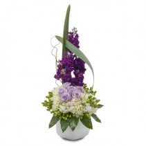 Lush and Lavender Arrangement