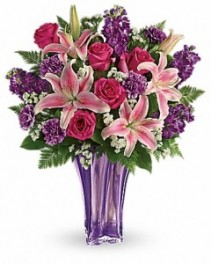 Luxurious Lavender Bouquet Mother's Day Flowers