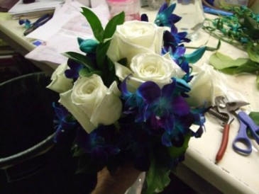 Making Bouquets!