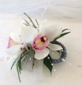 Mini Cymbidium Wrist Corsage Weddings and Prom