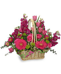 MISSING YOU BUNCHES! Flower Basket