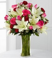 MIX LILIES ARRANGMENT