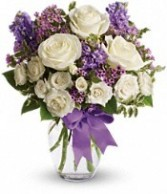 SA 3-Mixed vase arrangement Flowers and colors may vary