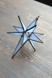 Moravian Star Stained Glass  Gift