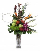 Tropical Garden Vase Arrangement