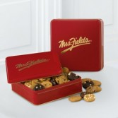 Mrs. Fields® Classic Tin with 48 Assorted Nibblers Order early to ensure delivery by a specific date.