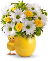 My Little Chickadee by Teleflora Spring Arrangement, Easter Arrangement in Thunder Bay, ON | GROWER DIRECT - THUNDER BAY