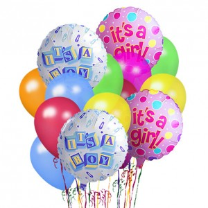 New Baby Balloon Bouquets Gift in Richland, WA | ARLENE'S FLOWERS AND GIFTS