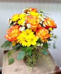 O Happy Day! Vase Arrangement