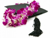 Graduation Time! Orchid Lei