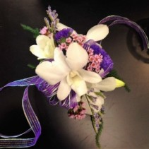Orchids in Lavender Wrist Corsage