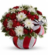 Ornament Bouquet by Radko in Katy, TX | KD'S FLORIST & GIFTS
